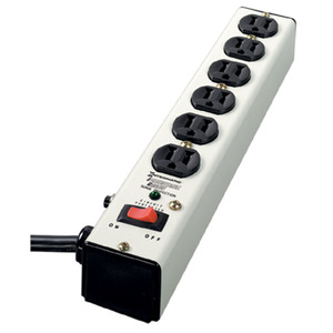 Intermatic IG112663 Surge Strip, 3-Mode, 125VAC