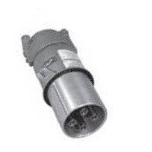 Appleton AP20034CD Pin & Sleeve Plug, 200A, 600V, 4P3W, Style 2