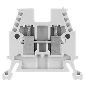 Allen-Bradley 1492-W4 Terminal Block, 30A, 600V AC/DC, Gray, 4mm, Space Saver