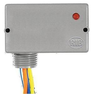 Functional Devices RIB2401D Relay, Pilot Control 10A, 24VAC/DC, 120VAC Coil, DPDT, Enclosed
