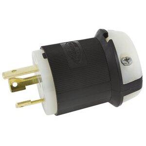 Hubbell-Kellems HBL2621 Locking Plug, 30A, 250V, L6-30P, 2P3W