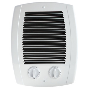 Cadet CBC103TW Heater Assembly Wall Can/Grill/Thermostat/Timer, White