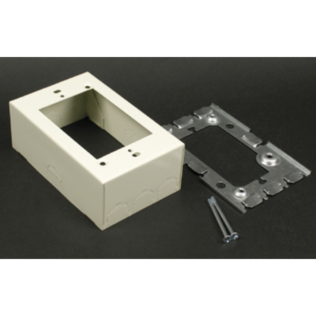 Wiremold - 5751AWH, 1-Gang Extension Adaptors, Boxes, Raceway ...