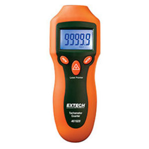 Extech 461920 Tachometer, Digital, Miniature, w/ Laser Light Source