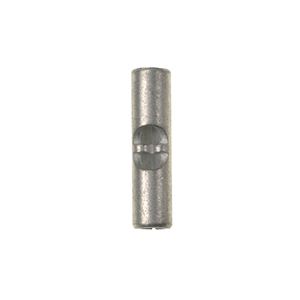Panduit BS18-C Butt Connector, Non-Insulated, 22-18 AWG, Pack of 100
