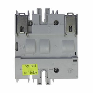 Eaton/Bussmann Series RDF30CC-3 Disconnect Switch, 30A, Open, Rotary, Fused, 3-Pole, Class CC, UL98