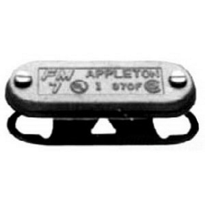 """Appleton APP570FIG Condulet Cover With Gasket, 1-1/2"""", Form 7, Stamped Steel"""