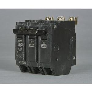 GE Industrial THQB32035 Breaker, 35A, 3P, 120/240V, Q-Line Series, 10 kAIC, Bolt-On