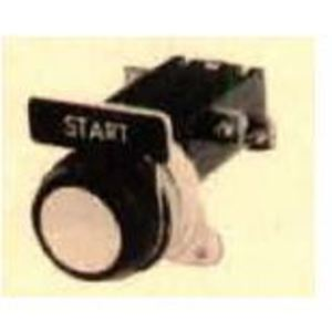 Parts Super Center CR2940UA202C Push Button, Heavy Duty, Oil Tight, Operator Only, 1NO/NC, Red Ring