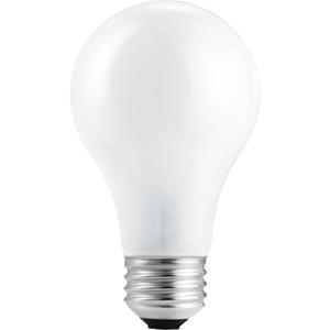 Philips Lighting 43A19/EV-120V-12/2 Halogen Lamp, A19, 43W, 120V, **Package of 2**