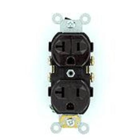 Leviton - 5800-ISP, 20 Amp - Duplex, Receptacles - Commercial