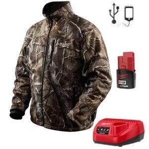 Milwaukee 2343-L M12 Camouflage Heated Jacket Kit L
