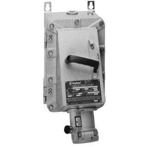Appleton EBR6034FB60 EBR Receptacle w/Circuit Breaker, 60A, 600V Breaker