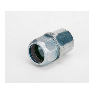 "Bridgeport Fittings 292-RT Combination Coupling, EMT: 1"", Rigid: 1"", Zinc Die Cast"