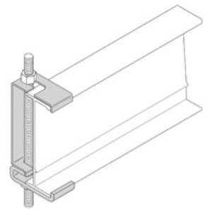 "Cooper B-Line 9ZN-5324 HANGER ROD CLAMP, FOR 4"" NEMA / 5"" HEIGHT"
