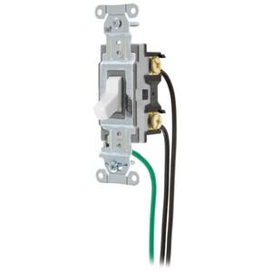 Hubbell-Wiring Kellems CSL120W HUB CSL120W SWITCH, SPEC, SP, 20A