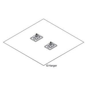 Harger Lightning & Grounding 336 .032X24X24 GROUND PLATE