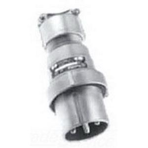 Appleton AEP6462 Pin & Sleeve Plug, 60A, 600VAC, 250VDC, Style 2, 4P3W