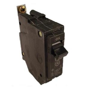 GE Industrial THQB1115 Breaker, 15A, 1P, 120/240V, Q-Line Series, 10 kAIC, Bolt-On