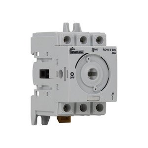 Eaton/Bussmann Series RD16-3-508 Disconnect Switch, 16 Amp, 600V UL 508, Non-Fused, 3-Pole