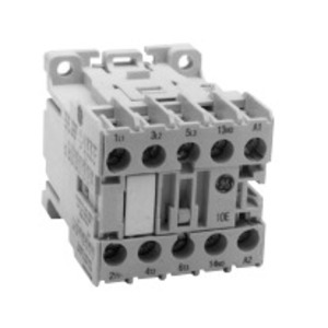 GE MC1A400ATJ Contactor, Miniature, 9.0A, 4P, 120VAC Coil, 600VAC Rated, 4NO Aux.