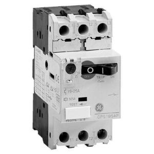 GE GPS1BSAG Starter, Motor, Manual, Toggle, 1.6-2.5A, 600VAC, 45mm