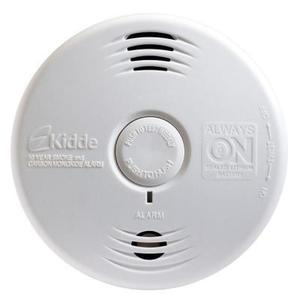 Kidde Fire 21010067 Smoke Alarm, 10 Year Sealed Lithium Battery, 85 dB, White