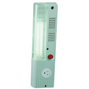 "Cooper B-Line ELS25-120 Fluorescent Enclosure Light, 120V, Length: 13.6"", On/Off Switch"
