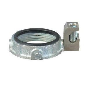 "Appleton GIB-150L-4AC Grounding Bushing, 1-1/2"", Threaded, Insulated, Malleable Iron"