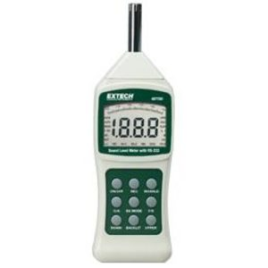 Extech 407750 Sound Meter, w/ PC Interface, Digital