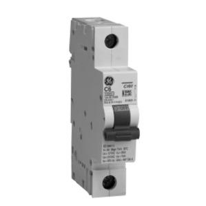 GE EP101ULB20 Breaker, Miniature, 1P, 20A, 120VAC, 10kAIC, DIN Rail Mount