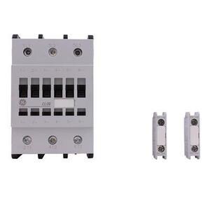 GE CL09E311MD Contactor, IEC, 80A, 460V, 3P, 24VDC Coil, 1NO/NC Auxiliary