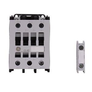 GE CL45D310MD Contactor, IEC, 34A, 460V, 3P, 24VDC Coil, 1NO Auxiliary