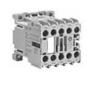 GE MCRC031ATD Relay, Mini, Control, 24VDC Coil, 3NO/1NC Contacts, 600VAC