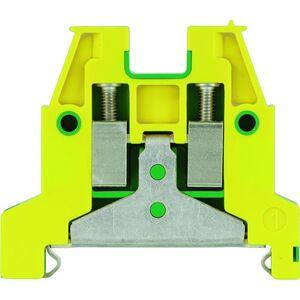 Allen-Bradley 1492-WG4 Terminal Block, Grounding, Green/Yellow, 4mm, 22 - 12AWG