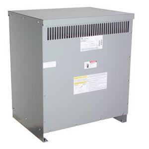 GE 9T83C9874G80 Transformer, Dry Type, 75KVA, 480V Primary, 208Y/120V Secondary