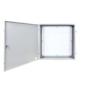 Milbank 363610-TC3R-H-BP-SP Telephone Cabinet, Wall-Mount, NEMA 3R, Pad Locking Latch, Steel/Gray
