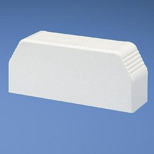 Panduit T70ECIW End Cap Fitting / T-70 Series Raceway, Off-White
