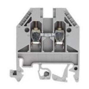 Wieland 57.503.0055.0 Terminal Block, Feed Through, 2.5mm, Gray, 2 Conductor