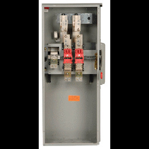 GE TFUSE400 Fuse, 400A, 300VAC, Class T, Current Limiting, 200kAIC