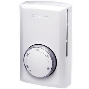 Electromode TS521W Thermostat, 1-Pole White 22A