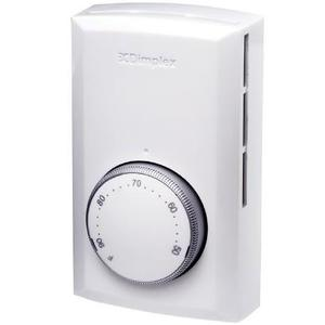 Electromode TD522W Thermostat, 2-Pole White 22A