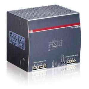 ABB Entrelec 1SVR427056R0000 Power Supply, 480W, 24VDC Output, 20A, 3P, 400-500VAC, 3PH