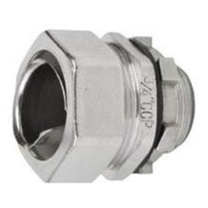 "Calbrite S62000FCS0 Flex Connector, Straight, Male, 2"", Stainless Steel"