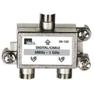 Ideal 85-132 Splitter, 2-Way, Video, 5 MHz - 1 GHz, Screw Mount