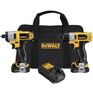 DEWALT DCK210S2 12V Max Cordless Tool Kit