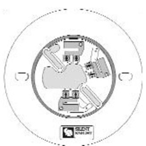 "SD505-6AB Smoke Detector Base, Diameter: 5-15/16"", Non-Metallic, White"