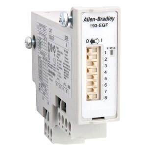 Allen-Bradley 193-EGF Module, Ground Fault Protection, LED, 20mA - 5A, Adjustment