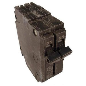 GE Industrial THQP250 Breaker, 50A, 2P, 120/240V, 10 kAIC, Thin Q-Line Series