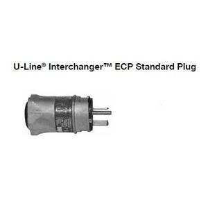 Appleton ECP-20232 Straight Blade Plug, 20A, 250V, NCP, 2W3P